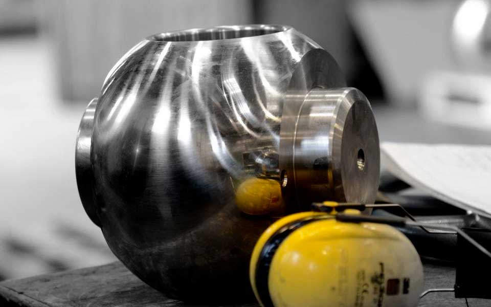 nana meccanica ball valve components